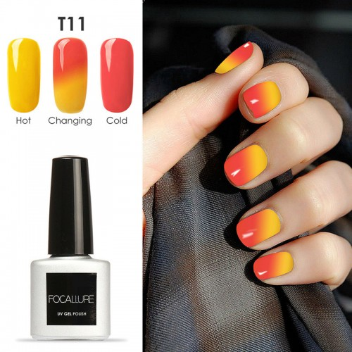 New Temperature Changing Color Nail Gel Polish
