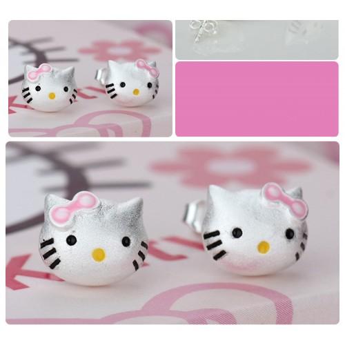 Hello Kitty Stud Earrings (free shipping)