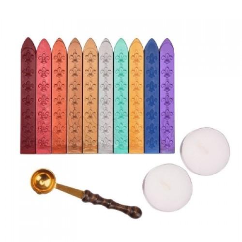 13 Pieces Antique Sealing Wax Sticks Set