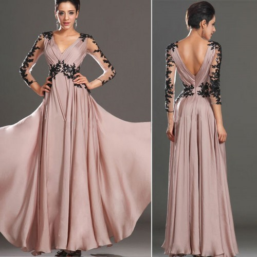 Party Prom Gown Bridesmaid Long Dress