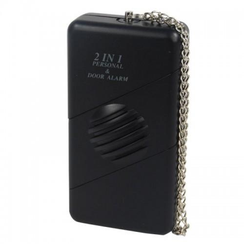 2 n 1 Personal/Door Alarm