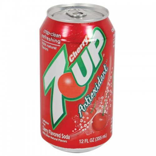 Cherry 7UP Diversion Safe