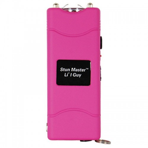 12,000,000 volt Pink Stun Gun w Flashlight  & Holster