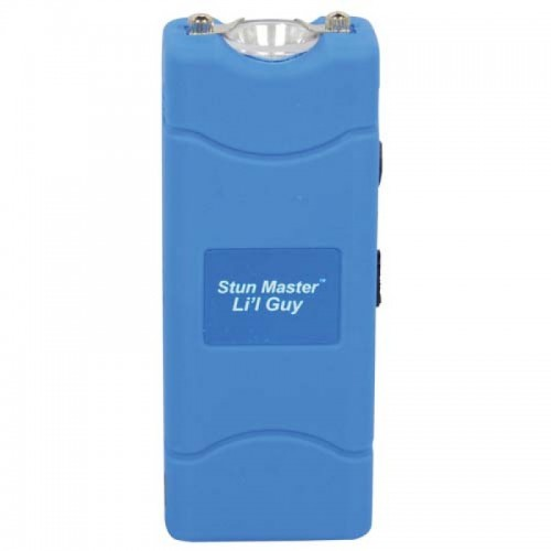 12,000,000 volts Blue Stun Gun w Flashlight & Holster