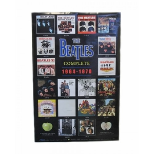 The Beatles Complete Albums 1964 - 1970 Poster