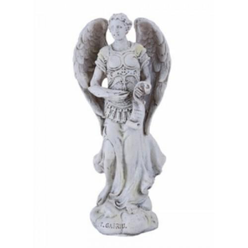 White Archangel Gabriel the Messenger Statue