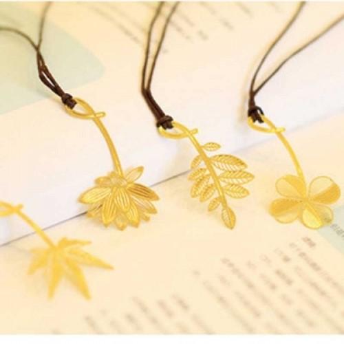 5 PCS Pure Fresh Elegant Flowers Monogatari Bookmarks