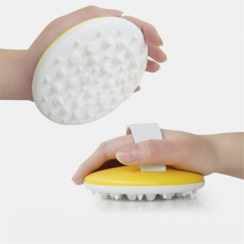 Anti Cellulite Body Massager Brush Glove Slimming Relaxing Scrub