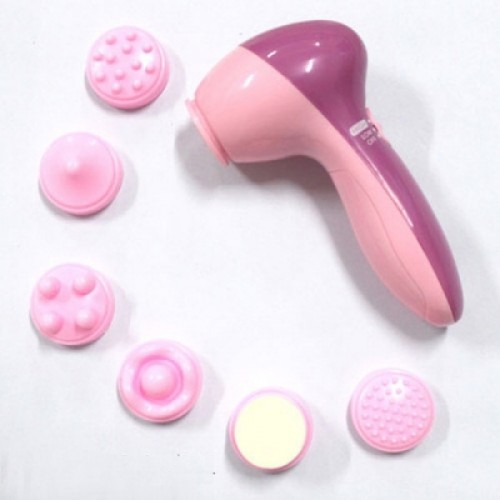 Fashion Mini 6 in 1 Facial Exfoliator Care Cleansing Body