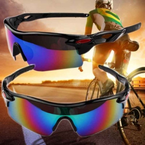 Cool Outdoor Windproof 100% UV400 Sunglasses Outdoor Sport Cycling Glasses