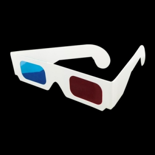 3D Glasses-Red And Blue