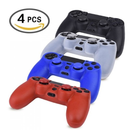 Silicone Protector Skin 4 Colors for PS4 Game Controller