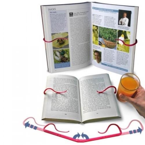 Gimble Creative Look bookshelf Reading Folder Read Bookend-Color