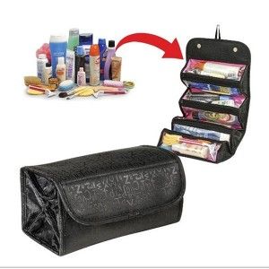Travel Makeup Bag Cosmetic Pouch Multi Pockets Buggy Bag