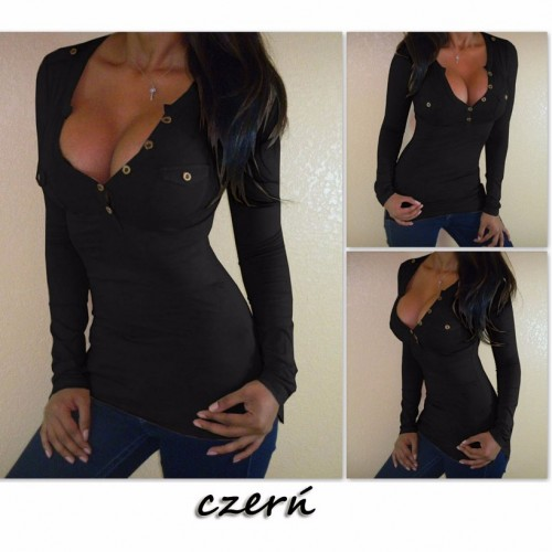t shirt women sexy blusa casual button