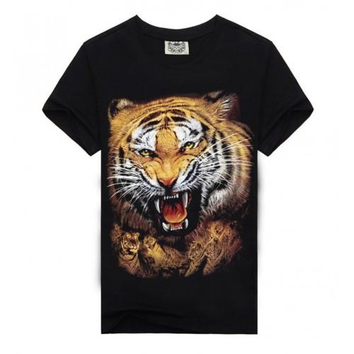 Fashion Men T-shirt 3d Print Tiger