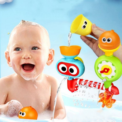 Bath Tub Toy Water Sprinkler System for Kids