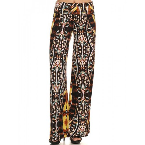 FLORAL AND MULTI PRINT PALAZZO PANTS APPAREL