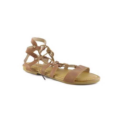 Bohemian lace up sandals, gladiator inspired designs