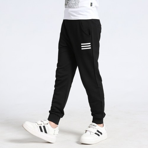 2017 5-14Y High Quality Boys and Girls' Sports Spring Autumn Casual Pants Kids' Soft Full Length Pants School Kids' Trousers