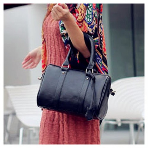 Stylish and Laconic PU Zipper Design Handbag/Slanting Bag