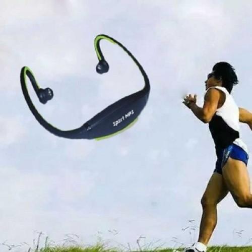 Wireless Sports MP3 Multimedia Stereo Plug-in Card Earphone