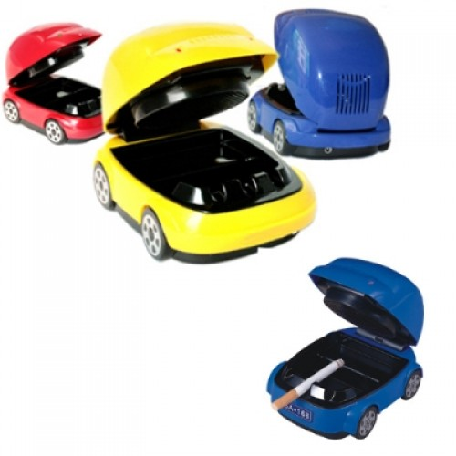 Stylish USB Powered Car Shaped Smokeless Ashtray