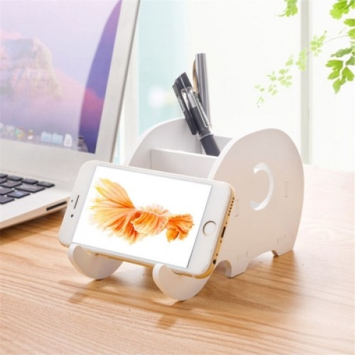 Multifunction Portable Dismountable Creative Cartoon Elephant Mobile Phone Holder Tablets Holder