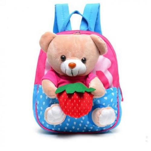 2017 special offer Children school bags cute infant walking wings backpacks cartoon bear for kid bags