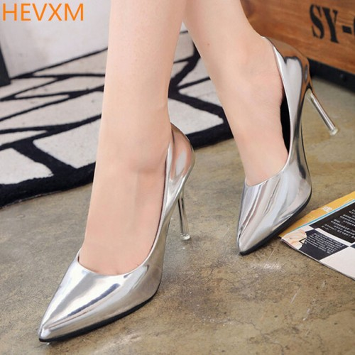 New ladies fashion pointed temperament fine with sexy high heels woman shoes