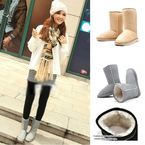 Fashion Women Winter Snow Boots Warm Mid-calf Boots  RD871406