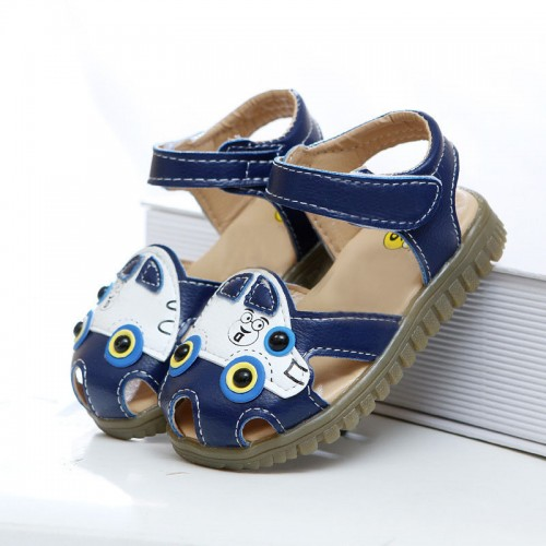 Cartoon Anti-slip Hollow Breathable Boys Sandals