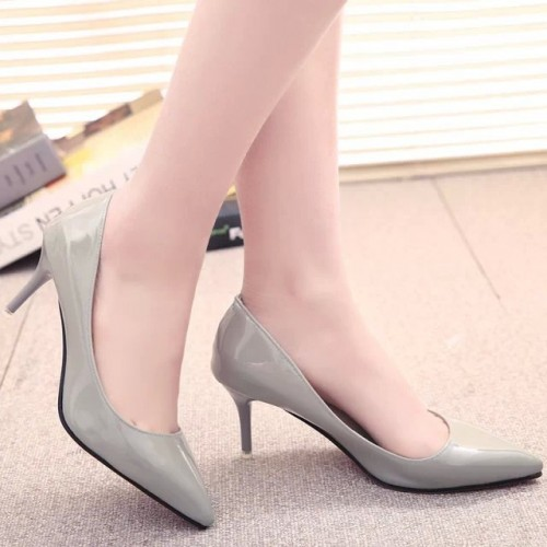2017 Outlet New Spring Brand Shoes Ladies High Heels Pumps Stiletto Thin Heel Women's Shoes Pointed Toe High Heels Party Shoes