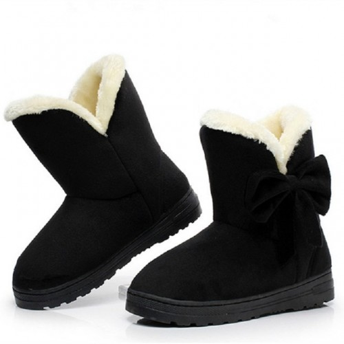 Women snow boots female ankle boots with fur