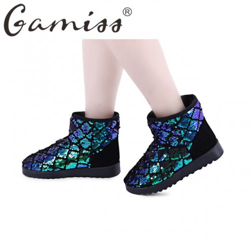 Gamiss Winter Ankle Boots