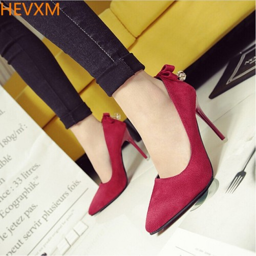 SPRING WOMEN FINE WITH POINTED SEXY NIGHTCLUBS HIGH HEELS