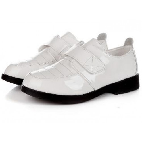 Boys black white dress shoes children's fashion leather wedding spring summer casual flat shoes infantis 384