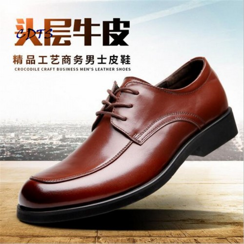 Hot Sale High quality Genuine cowhide men business dress Shoes Comfortable Male Wedding/Party Breathable/Deodorant Zapatos