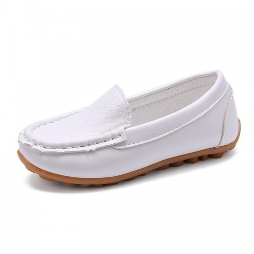 Soft Leather Loafer Children Shoes Breathable Sneakers