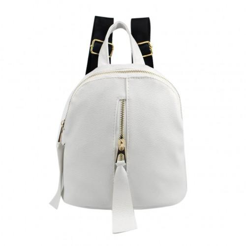 PU Leather School Rucksack Travel Bag Satchel Women Shoulder Bags Feminina Backpacks Zipper Bolsa Mochila Mochilas Mujer 1STL