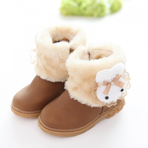 High Quality 2017 new winter children boots baby shoes girls warm shoes
