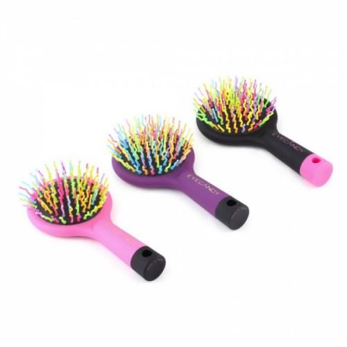 Rainbow Volume Magic Detangler Curly Straight Hair Massage Comb