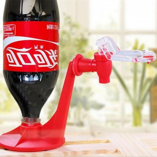 Mini Upside Down Drinking Fountain Cola Beverage Switch Drinker Hand