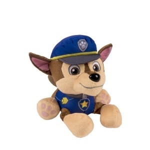 Children Gift Cartoon Figures Stuffed Plush Toys Paw Patrol Doll Chase Blue