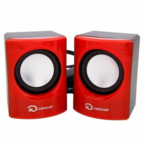 KU004 Speaker Black & Red