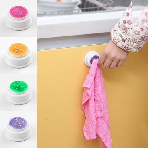 Wash Cloth Clip Holder Dishclout Storage Rack Kitchen Bathroom