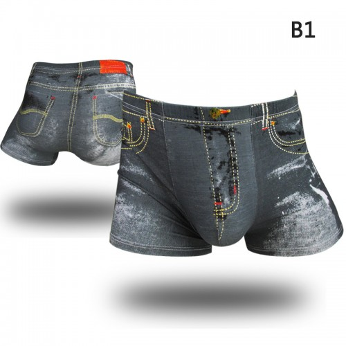 Sexy Mens Underwear Boxers Shorts Men Boxer Trunks  3D print