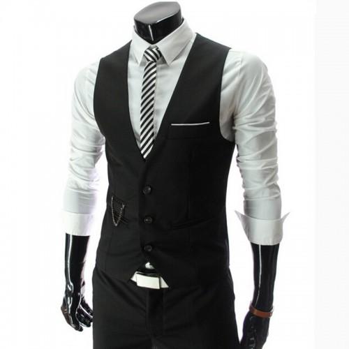 Men's fashion high quality fine classic business suit vest