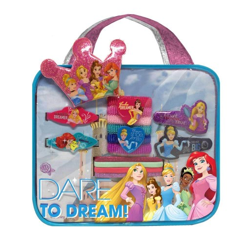 Disney Princess Bag & Hair Accessories