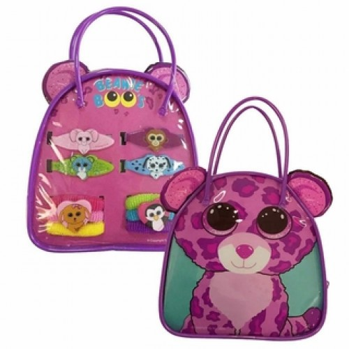 Glamour The Leopard Beanie Boo Bag Set